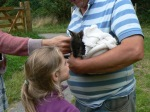Abi meets Colin the Wallaby